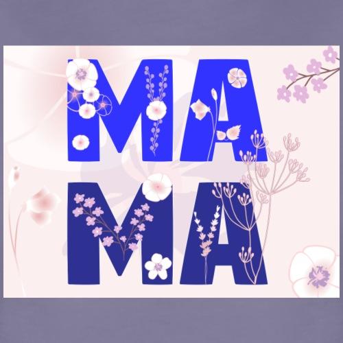 Mama, MA MA Buchstaben