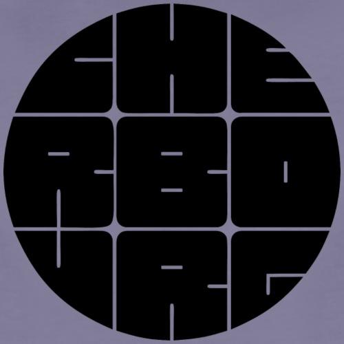 Cherbourg Rond Noir - T-shirt Premium Femme
