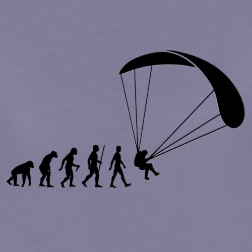 Paragliding evolution - Frauen Premium T-Shirt