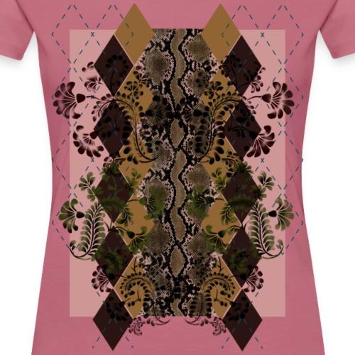 Exothic Chic - Maglietta Premium da donna