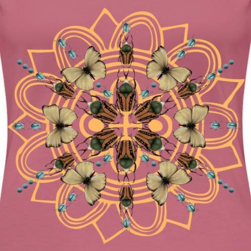 Collage di farfalle - Maglietta Premium da donna