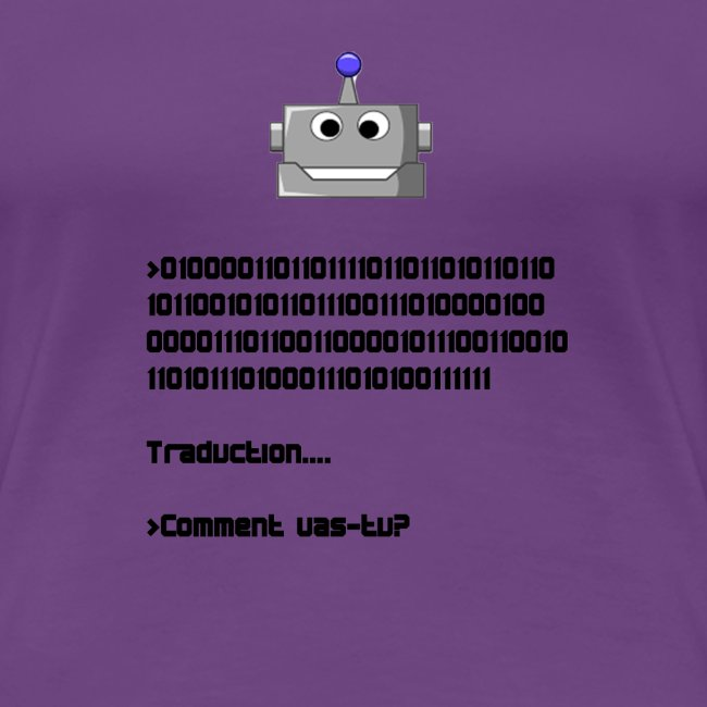 Salutation robotique