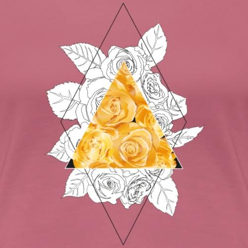 roses - Frauen Premium T-Shirt