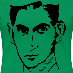 Portrait of Franz Kafka, - Women's Premium T-Shirt