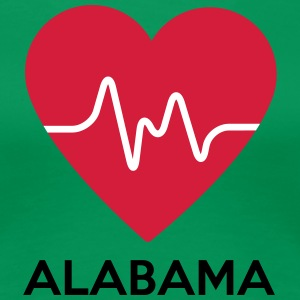 heart Alabama - Women's Premium T-Shirt