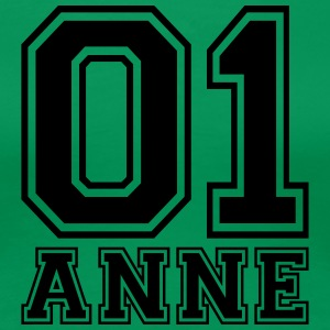 Anne - Name - Frauen Premium T-Shirt