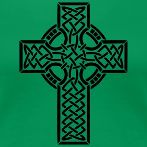 Celtic cross - Women's Premium T-Shirt