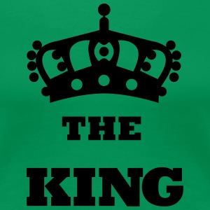 THE_KING - Dame premium T-shirt
