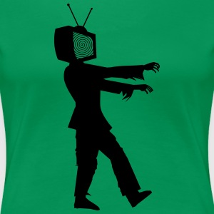 Tv er agterstavn 2HP - Dame premium T-shirt