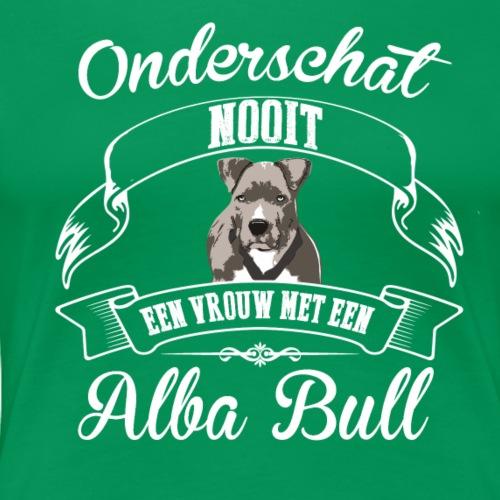 Alba Bull - Vrouwen Premium T-shirt
