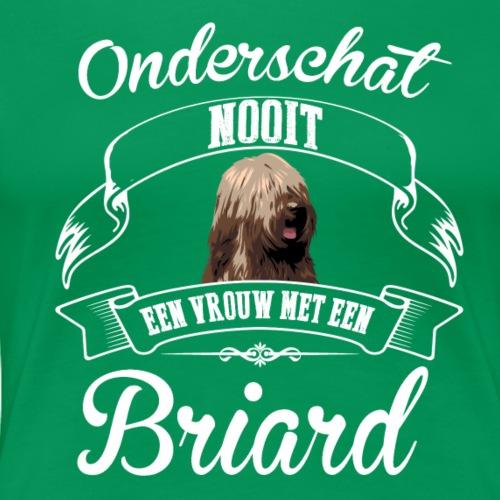 Briard - Vrouwen Premium T-shirt