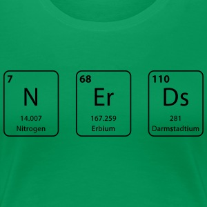 nerds Periodensystems Element - Frauen Premium T-Shirt
