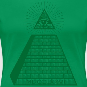 Eye of Providence - Women's Premium T-Shirt