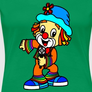 clown colorful - Maglietta Premium da donna
