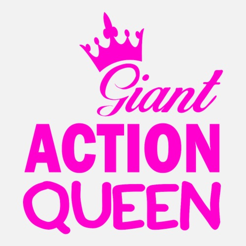 Giant ACTION QUEEN - Frauen Premium T-Shirt