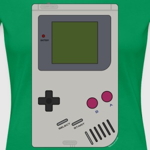 Old School Gaming - Women's Premium T-Shirt