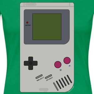 Old School Gaming - Frauen Premium T-Shirt