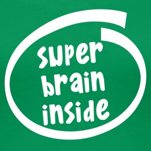 super brain inside (1846B) - Frauen Premium T-Shirt