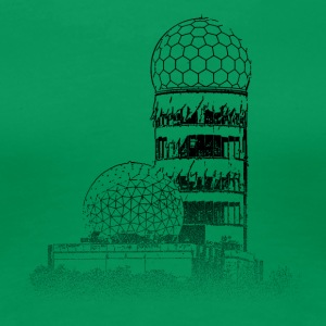 Around The World: Teufelsberg - Berlin - Frauen Premium T-Shirt