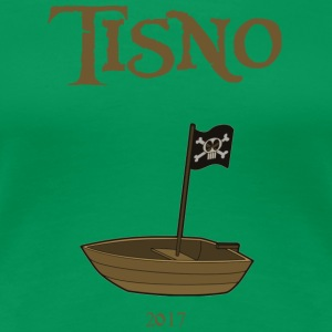 Tisno Boat Party - Premium-T-shirt dam