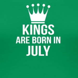 kings are born in july - Women's Premium T-Shirt