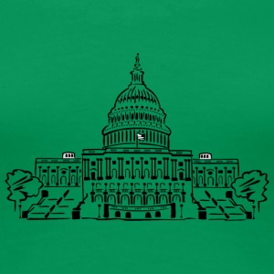 Capitol Washington - Frauen Premium T-Shirt