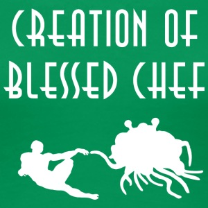 CREATION OF BLESSED CHEF WHITE - Women's Premium T-Shirt