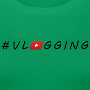 YouTube #Vlogging - Dame premium T-shirt