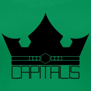 Capitalis Crown - Premium T-skjorte for kvinner