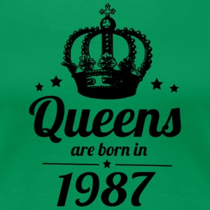 Queen 1987 - Women's Premium T-Shirt