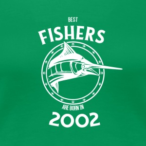 Present for fishers born in 2002 - Women's Premium T-Shirt
