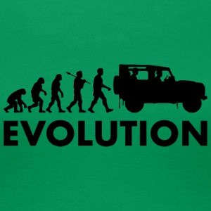 Evolution - Premium T-skjorte for kvinner