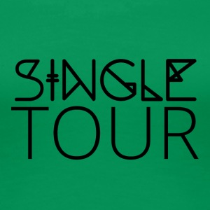 Single: Single Tour - Frauen Premium T-Shirt