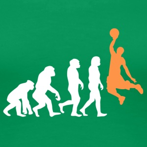++ Basketball Slam Dunk Evolution ++ - Women's Premium T-Shirt