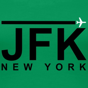 JFK Black - Women's Premium T-Shirt