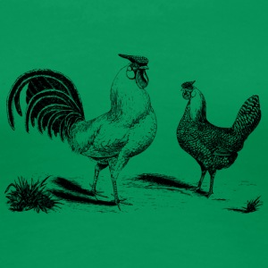 chicken237 - Frauen Premium T-Shirt