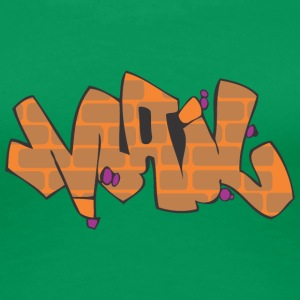Mail-Graffiti - Frauen Premium T-Shirt
