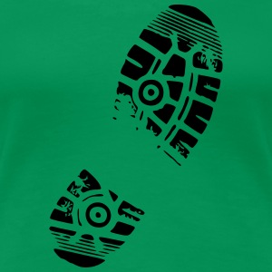shoeprint - Dame premium T-shirt