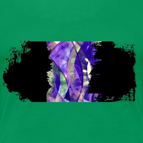 Lila Laune Kunst Motiv - Frauen Premium T-Shirt