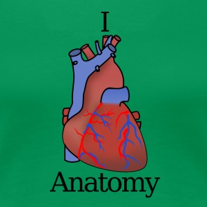 I Heart Anatomy B - Frauen Premium T-Shirt