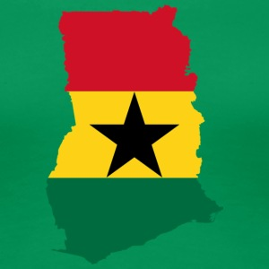Ghana Map - Women's Premium T-Shirt