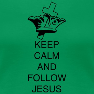 FOLLOW JESUS - Frauen Premium T-Shirt
