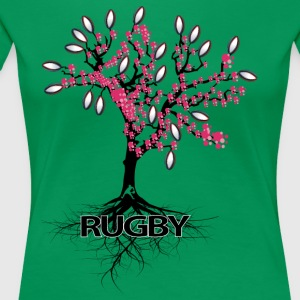 THE RUGBY TREE - Women's Premium T-Shirt