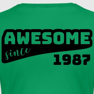 Awesome since 1987 / Birthday-Shirt - Women's Premium T-Shirt