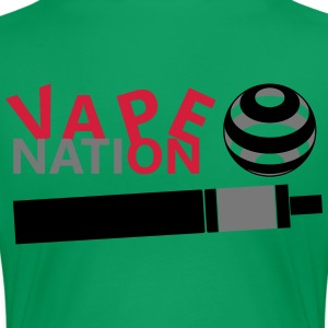 Vape On - vape Nation - Premium-T-shirt dam