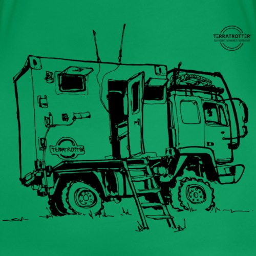 Expedition Truck | Terratrotter® - Women's Premium T-Shirt