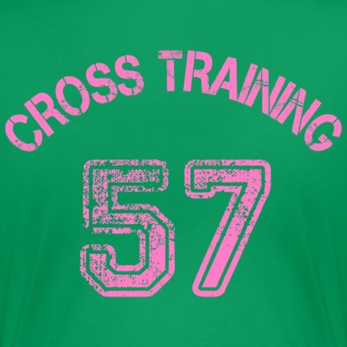04 - Visuel dos - Cross training 57 - T-shirt Premium Femme