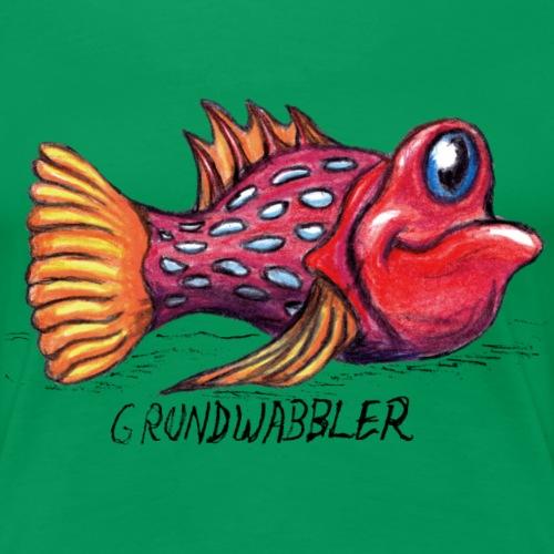 Grundwabbler - Frauen Premium T-Shirt