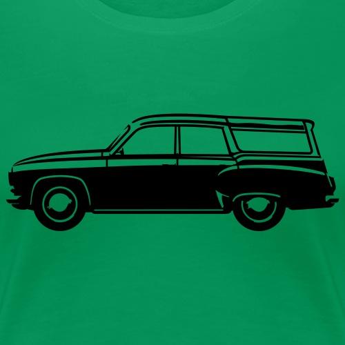 Vintage camping - Women's Premium T-Shirt