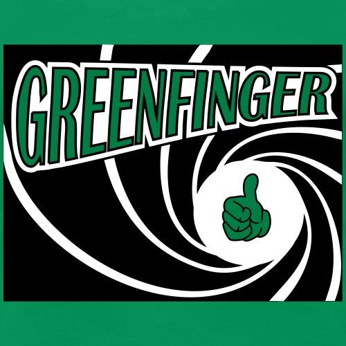 greenfingerohne blümchen - Frauen Premium T-Shirt